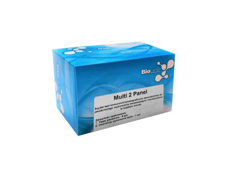 Zanurzeniowy test narkotykowy z moczu - 2 parametry: BAR/BZO - BioLine Multi 2 Panel