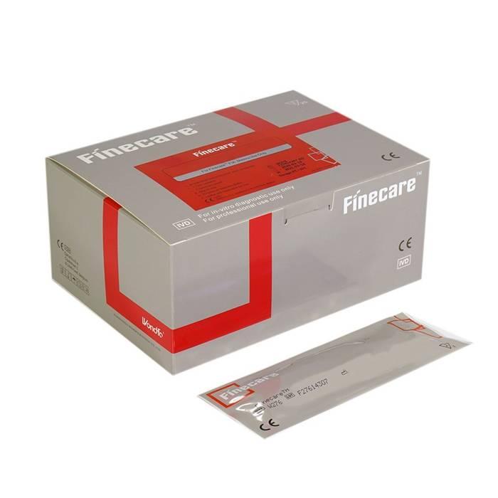 cTnI (Troponina I) FINECARE™ 25 szt. - FIA METER - szybki ilościowy test immunofluorescencyjny