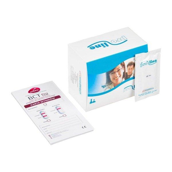 BCT Pro PROLINE (10 testów) - szybki test do wykrywania antygenu raka pęcherza moczowego